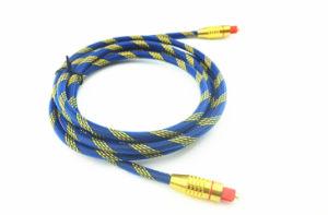 2m Digital Optical Fiber Audio Cable Od6.0mm Od60-G pictures & photos