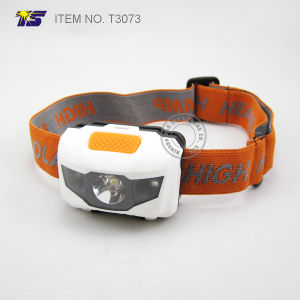 High Power Waterproof Headlamp 3AAA Battery Operated for Camping (T3073) pictures & photos