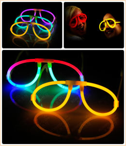 Christmas Supply Items, Concerts Favor, Party Decoration Assorted Colors Glow Stick Eyeglasses pictures & photos