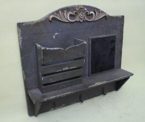 Purple Grey Multipurpose Small Blackboard Hanging Wooden Flowerpot pictures & photos