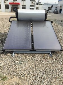 Flat Plate Sun Power Solar Water Heater pictures & photos