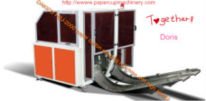 Dakiou New Design Paper Pizza Box Machine with Gluing and Heating pictures & photos