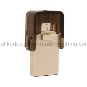 Hot Sale Logo Free OTG USB Flash Drive (UL-OTG008) pictures & photos