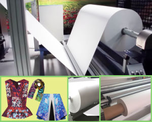"100GSM 126""Width Dye Sublimation Paper for Textiles pictures & photos"