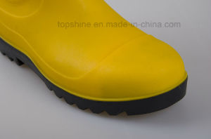 Ce 2015 Standard Steel Toe PVC Rainboots. pictures & photos