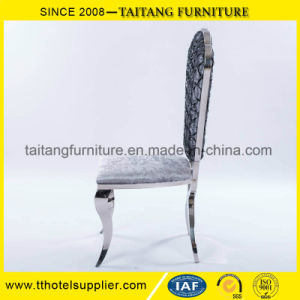 Hotel Use Stainless Steel Wedding Banquet Dining Chair pictures & photos