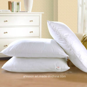 Cotton Fabric Soft Duck Feather Pillow pictures & photos