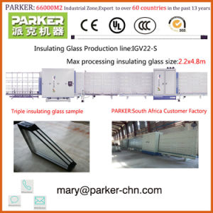 Vertical Glass Washing Machine for Double Glazing pictures & photos