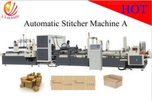 Automatic Folder Gluer and Stitcher Machine (JHXDX-2800) pictures & photos