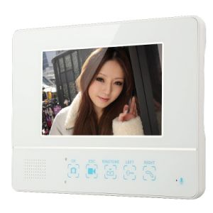 "7"" Wireless Video Door Phone Doorbell 4G SD Card Picture Record & Code Keypad pictures & photos"