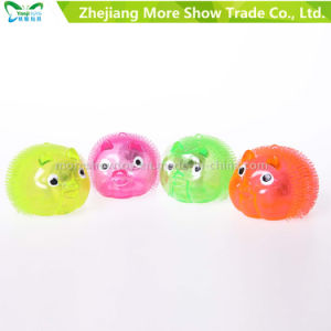 Novelty Colorful Puffer Yoyo Piggy Toys Light up Ball pictures & photos