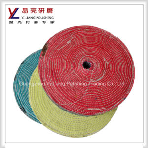 Abrasive 100% Cotton Buffing Wheel for Steel Surface Mirror Finishing pictures & photos