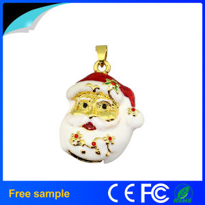 China Manufacter Custom Christmas Gift Jewelry Necklace USB Stick 8GB (JT116)