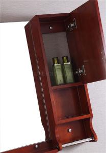 Classcial Luxury Solid Wood Oak Bathroom Vanity pictures & photos