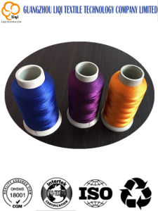 Dyeable High-Tenacity Filament Polyester Sewing Thread Textile Fabric Thread pictures & photos