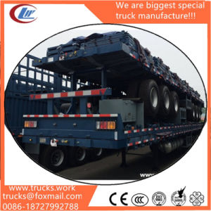 3-Axle 11m High Walls Bulk Cargo Semitrailer with Panels Around pictures & photos