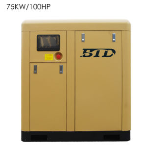 Factory Direct Sale/Industrial Air Compressor/Air Compressor Machines/ Screw Air Compressor Btd-75am pictures & photos