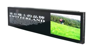 Metro/Rail Transit Stretched Bar LCD Display pictures & photos