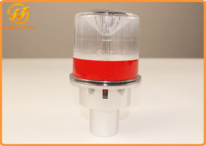 Hot Sale Solar LED Traffic Barricade Warning Light with Aluminum Base pictures & photos