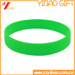 Fashhion High Quality Custom Silicone Wrist Band & Bracelet Jewelry (YB-HR-12) pictures & photos