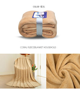 Chinese Supplier Super Soft Polyester Polar Fleece Blanket pictures & photos