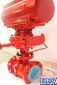 Pneumatic Flanged Cryogenic Ball Valve