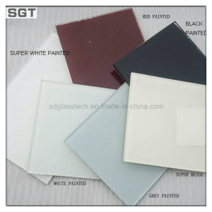 6mm Toughened/Tempered Lacquered Glass for Splashbacks pictures & photos