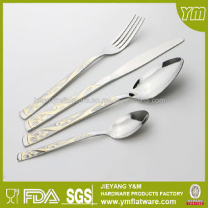 Stainless Steel Cutlery with Gold Plating with Different Package pictures & photos