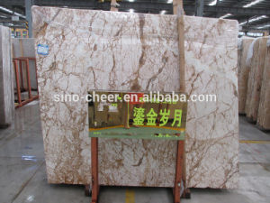 Gold Years Decorative Natural Marble Customized Marble Slab pictures & photos