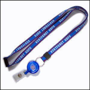 Fashionable Woven Hand Knitted Logo Custom Lanyard for Students pictures & photos
