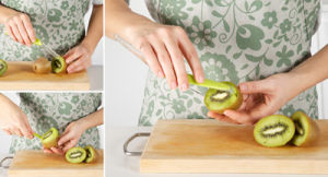 New Design Green Knife Kiwi Tool pictures & photos