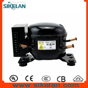 High Efficiency R600A DC Compressor 12V 24V Compressor Qdzy75g Lbp for Car Refrigerator Freezer pictures & photos