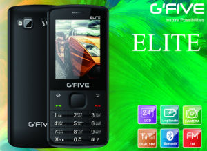Gfive Eliet Feature Phone with FCC, Ce, 3c