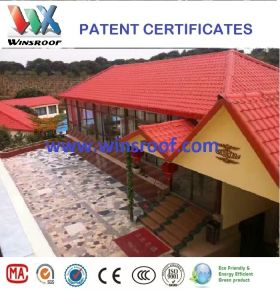Winsroof Patent PMMA Roof Tile/Teja Colobina pictures & photos