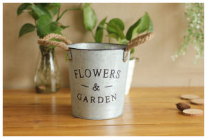 Decorative Diaper Refill Stainless Steel Pail Metal Ice Bucket pictures & photos