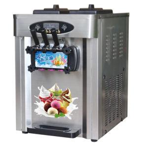 Three Flavor Stainless Steel Ice Cream Machine