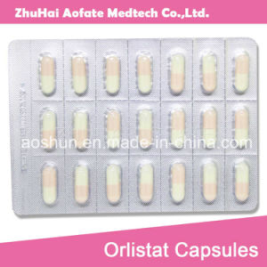 Orlistat Capsules Slimming Product GMP Drugs Reduce Weight Weight Loss Fat Burning pictures & photos