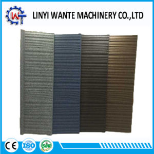Stone Coated Metal Roofing Wood Sheet Tiles pictures & photos