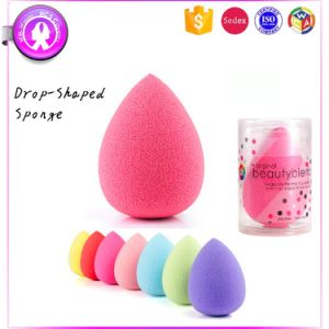 2017 Non-Latex Teardrop Cosmetic Sponge Beauty Blending Puff pictures & photos