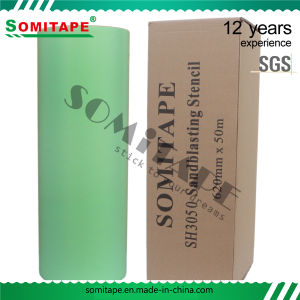 Somitape Sh3200 Super Thick Easy Release Sandblasting Stencil with No Residue pictures & photos