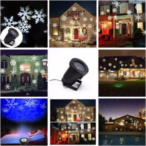 IP65 White LED Snowflakes Light Projector Christmas Laser Light Projector Outdoor Laser Garden Light pictures & photos
