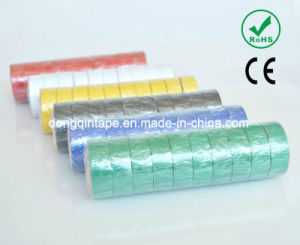 Yellow-Green PVC Adhesive Insulation Tape (130Z) pictures & photos