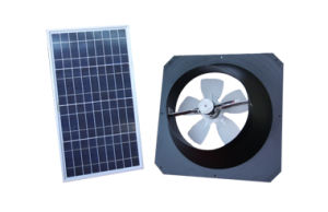 Solar Powered Ventilation Ventilating Fan on Wall or Roof pictures & photos