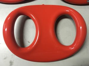 Red Dipped Die Casting Aluminum Fitness Equipment pictures & photos