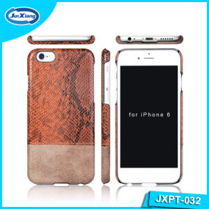 Fashion PU Leather Full Cover Slim PC Mobile Phone Cover Case for iPhone 6 pictures & photos