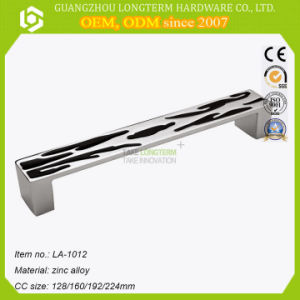 Euro Style Zinc Alloy Handle for Cabinet Door Handle pictures & photos