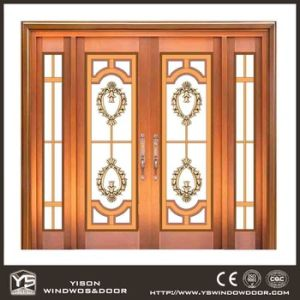 Coppman High Quality Commercial Copper Door with Glass pictures & photos