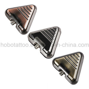 Brand Quality Tattoo Supplies Aliminum Triangle Tattoo Foot Switch Foot Pedal pictures & photos