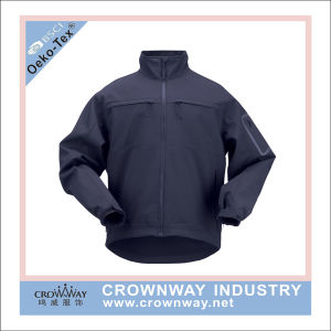 100% Cotton Man High Visibility Breathable Wholesale Softshell Jacket pictures & photos