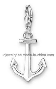Custom Anchor Charm for Men′s Leather Bracelet pictures & photos